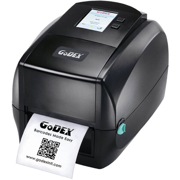 GoDEX Desktopdrucker RT860i 600 dpi USB LAN seriell Display