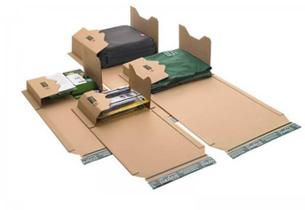 Universal-Versandverpackung 335 x 275 x - 80 mm