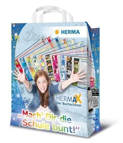 HERMA 7900 1000x Papiertragetaschen Schule