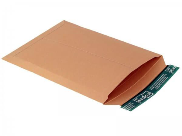 Versandtasche aus Vollpappe 350 x 265 x - 32 mm