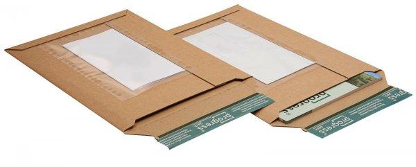 Versandtasche mit Folientasche 352 x 250 x - 40 mm