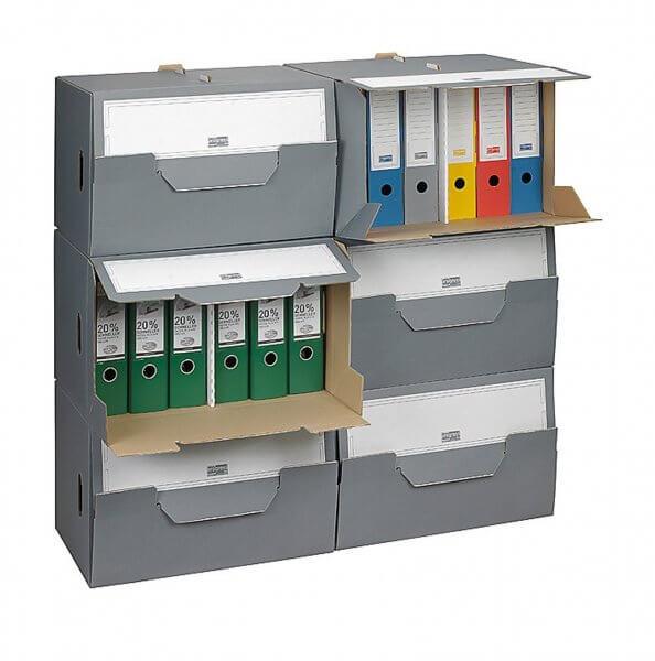 SELECT Archiv-Depot 504 x 325 x 305 mm Grau