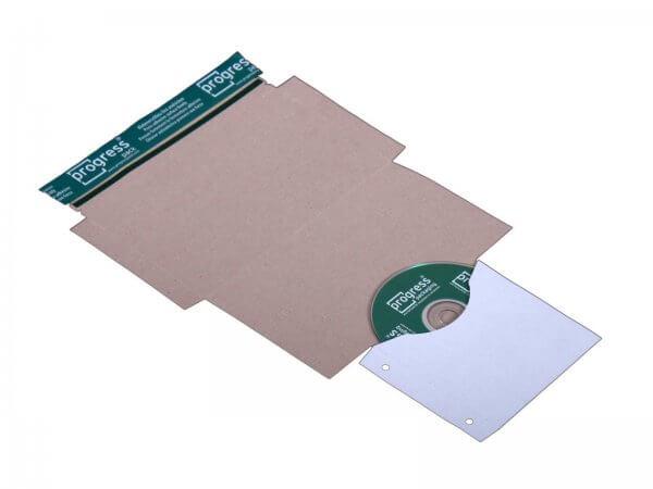 CD-Mailer 221 x 122 mm ohne Fenster