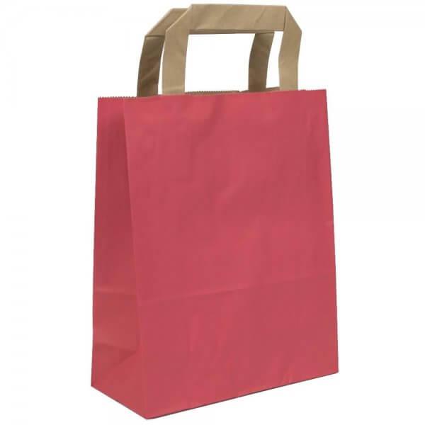 Papiertragetaschen 32 + 12 x 40 Rot