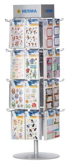 HERMA 7956 Theken-Einzeldrehständer für Kleinpackungen und Stickeralben