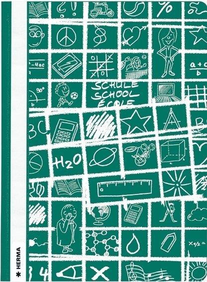 Heftschoner A4  SCHOOLYDOO grün Herma