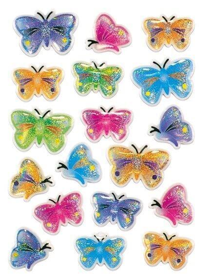 HERMA 5251 10x Sticker MAGIC Schmetterlinge Stone