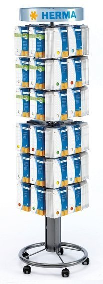 HERMA 7606 Bodenständer für Vielzwecketiketten in Büropackungen