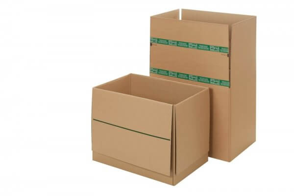 System-Versand-Transportkartons mit SuperFLAP 574 x 379 x 340 mm