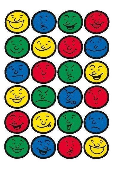 HERMA 5426 10x Sticker DECOR Gesichter