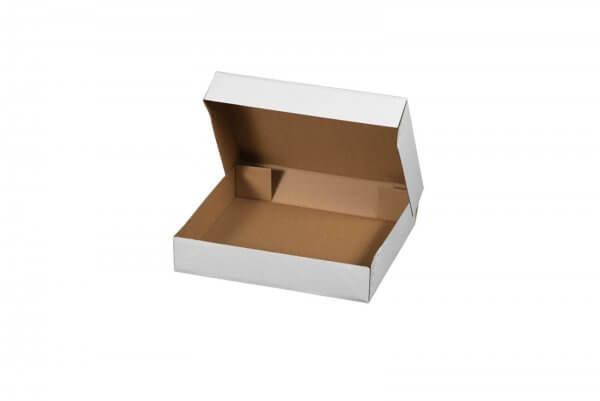 Klappdeckelschachtel mit Stülpdeckel 600 x 400 x 200 mm