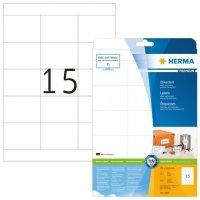 HERMA 5055 Etiketten Premium A4 70x508 mm weiß Papier matt 375 Stück