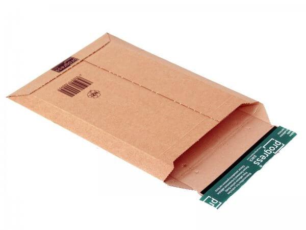 Versandtasche aus Wellpappe 311 x 228 x - 52 mm