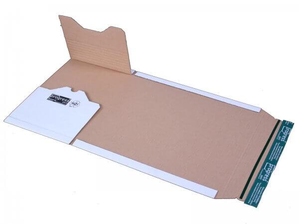 Universal-Versandverpackung 300 x 220 x - 80 mm Weiß