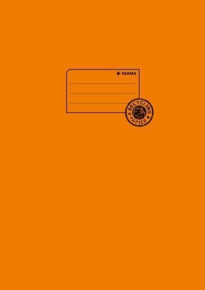 HERMA 5534 10x Heftschoner Papier A4 orange