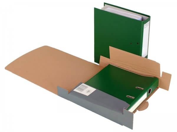 Ordner-Transport-Box 320 x 288 x 50/80 mm Anthrazit