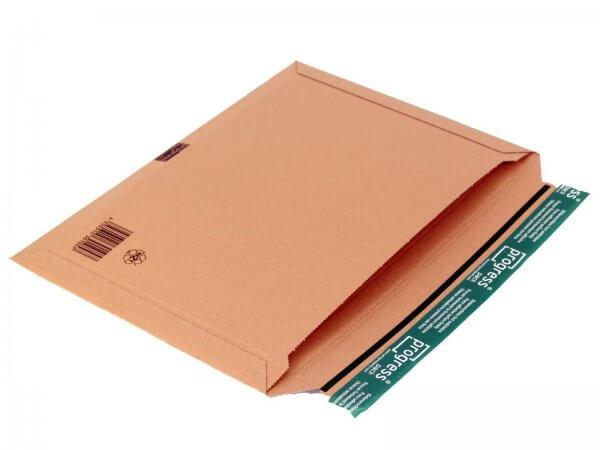 Versandtasche aus Wellpappe 412 x 293 x 32 mm