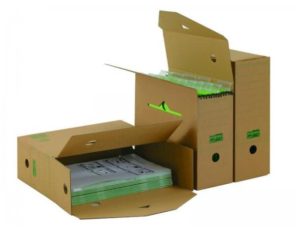 PREMIUM Hänge-Ablagebox 328 x 115 x 239 mm Braun