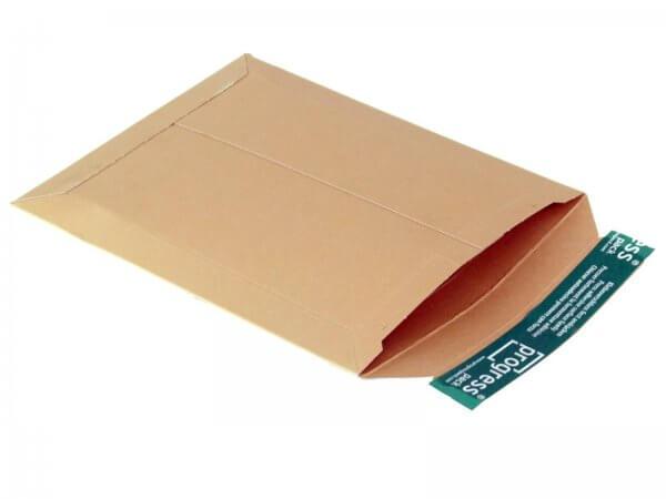 Versandtasche aus Vollpappe 269 x 214 x - 32 mm