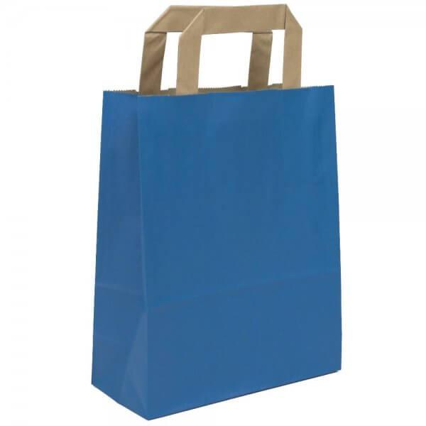 Papiertragetaschen 32 + 12 x 40 Blau