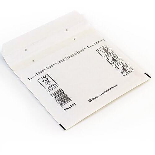 Luftpolsterversandtasche weiß CD 180 x 165 mm
