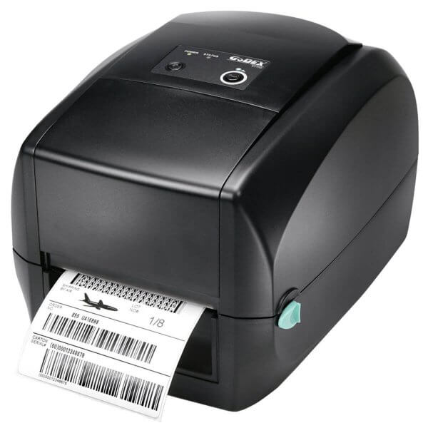 GoDEX Desktopdrucker RT700 203 dpi USB LAN seriell Display