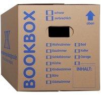 Bücherkarton Aktenkarton Bookbox (2-wellig)