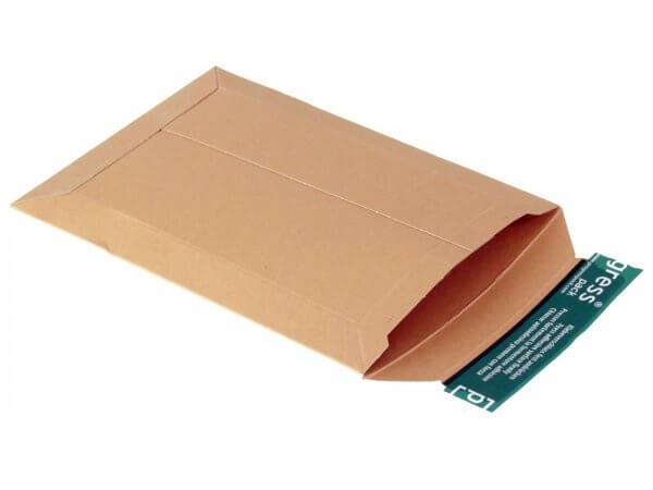 Versandtasche aus Vollpappe 250 x 175 x - 32 mm
