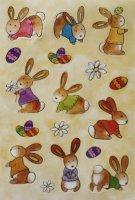 HERMA 6428 10x Sticker MAGIC Babyhäschen Seide