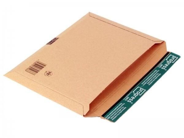 Versandtasche aus Wellpappe 350 x 250 x - 32 mm