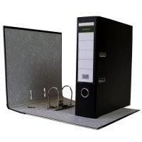 DIN A4 Aktenordner 8 cm PP Kunststoff Schwarz