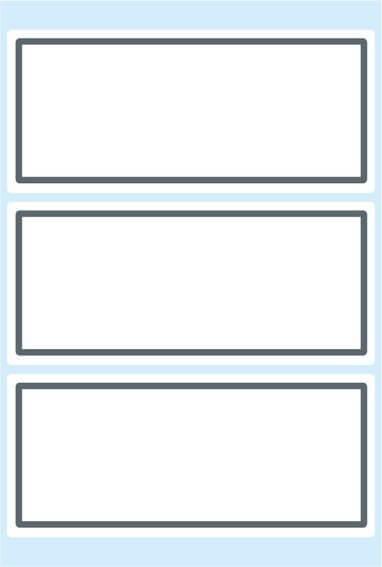HERMA 5711 10x Schuletiketten neutral grauer Rand 82x36 mm