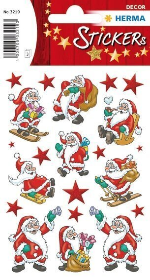 HERMA 3219 10x Sticker DECOR Nikolaus