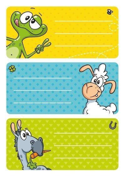 HERMA 5516 10x Schuletiketten Witzfiguren