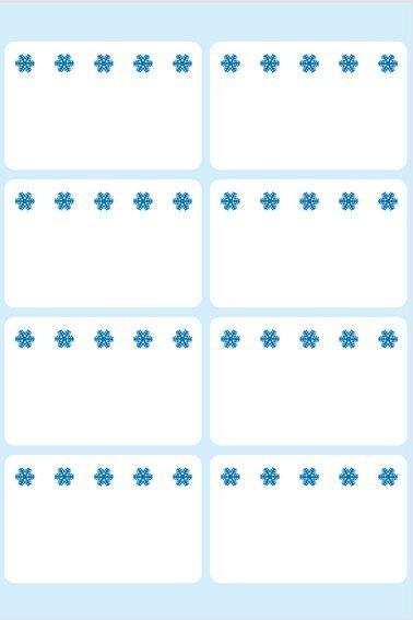 HERMA 3770 Tiefkühletiketten weiß 26x40 mm Eiskristalle 560 Stück