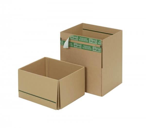 System-Versand-Transportkartons mit SuperFLAP 334 x 284 x 187 mm