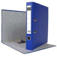 DIN A4 Aktenordner 5 cm PP Kunststoff Blau