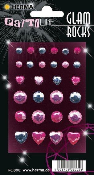 HERMA 6002 10x Glam Rocks Diamanten