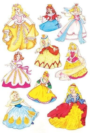 HERMA 3461 10x Sticker DECOR Prinzessin