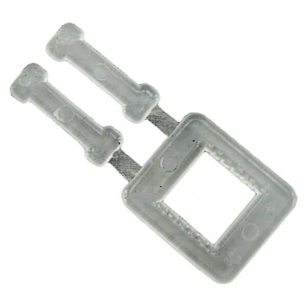 Verschlussklemmen Kunststoff 16 mm