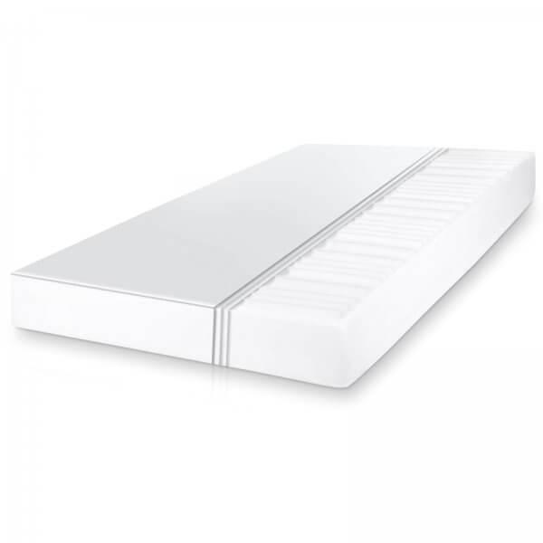 Matratze 7-Zonen Komfortschaum 90 x 200 cm, Härtegrad H3
