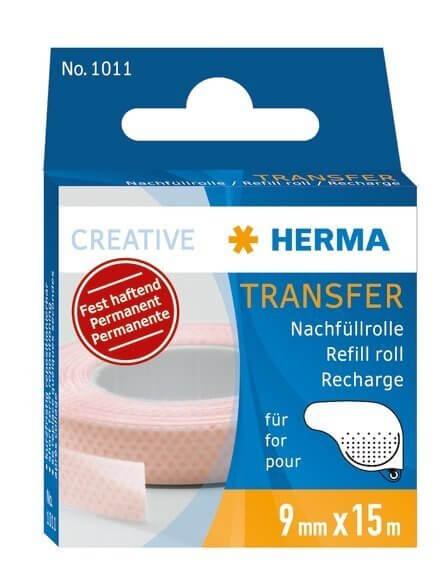 HERMA 1011 Transfer Nachfüllrolle 15 m fest haftend 10 Stück