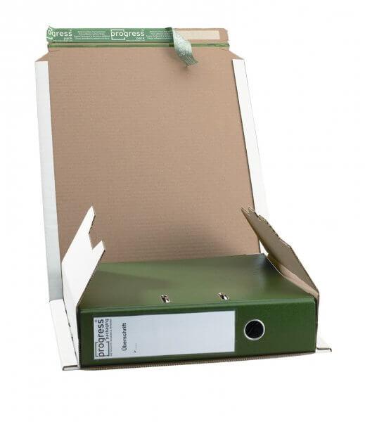 Ordner-Versandverpackung 320 x 290 x - 80 mm Weiß
